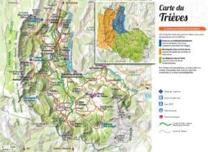 Carte générale du Trièves
