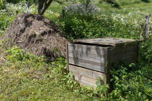 Gîte écologique, compost