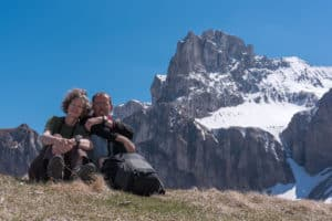 Hélène et David, propriétaires de l'Esquirou