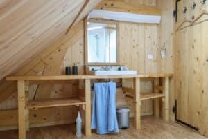 Gîte de l'Esquirou du Trièves - salle de bain